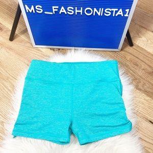 Victoria's Secret VSX Knockout Ruched Hot Shorts S